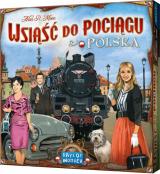 Obrazek gra planszowa Wsiąść do Pociągu: Polska