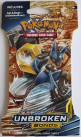 gra karciana Pokemon TCG: S M Unbroken Bonds - SLEEVED Booster