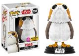 Funko POP Star Wars Bobble: E8 - Porg Flocked (Exc) (CC) (chase)