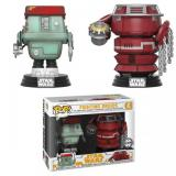 Funko POP Star Wars Bobble 2-Pack: Solo - Fight Droids (Exc) (CC)
