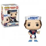 Funko POP TV: Stranger Things S3 - Steve w/Hat and Ice Cream