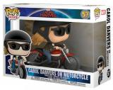 figurka Funko POP Rides: Marvel Captain Marvel - Carol Danvers on Motorcycle