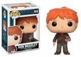 figurka Funko POP Harry Potter: Ron Weasley w/ Scabbers