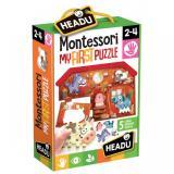Obrazek puzzle Puzzle Headu: Moje pierwsze puzzle Farma Montessori