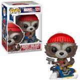 Obrazek figurka Funko POP Marvel: Holiday S2 - Rocket