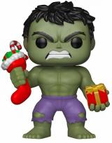 figurka Funko POP Marvel: Holiday - Hulk w/ Stocking & Plush