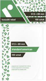 Koszulki Rebel (57,5x89 mm) Standard American 100 sztuk