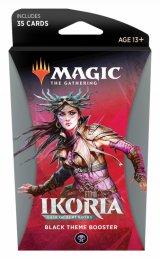 Magic The Gathering: Ikoria - Black Theme Booster