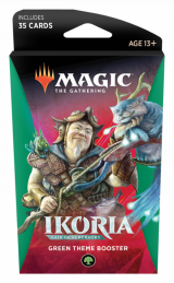 Magic The Gathering: Ikoria - Green Theme Booster