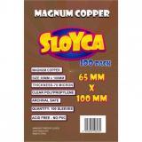 Obrazek akcesorium do gry Koszulki SLOYCA (65x100 mm) Magnum Copper 100 sztuk