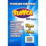 Obrazek akcesorium do gry Koszulki SLOYCA (59x92 mm) Standard European 100 sztuk