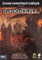 Gloomhaven: Usuwalne Naklejki do Gry