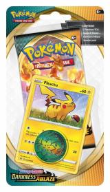 NPokemon TCG: Sword   Shield Checklane Pikachu Darkness Ablaze Blister