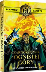 Obrazek książka, komiks Czarnoksiężnik z Ognistej Góry