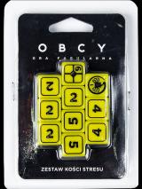 Obrazek akcesorium do gry OBCY Gra fabularna - zestaw kości stresu