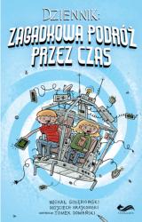 Obrazek książka, komiks Dziennik: Zagadkowa Podróż przez Czas