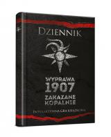 Obrazek książka, komiks Dziennik: Wyprawa 1907: Zakazane kopalnie