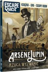 Obrazek książka, komiks Escape Quest: Arsene Lupin rzuca wyzwanie