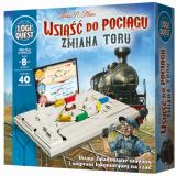 Obrazek gra planszowa Wsiąść do Pociągu: Zmiana Toru (Logiquest)