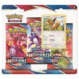 Obrazek gra karciana Pokemon TCG: Battle Styles- Eevee - 3-pack Blister