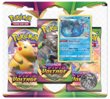 Obrazek gra karciana Pokemon TCG: Vivid Voltage - Vaporeon - 3-Pack Blister
