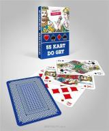 Karty do gry niebieskie 1x55 CARTAMUNDI
