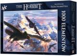Obrazek puzzle Puzzle Hobbit: Bilbo i orły (1000 elementów)