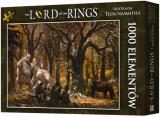 Obrazek puzzle Puzzle Władca Pierścieni: Pieśń wśród Trollowych Wzgórz (1000 elementów)
