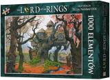 Obrazek puzzle Puzzle Władca Pierścieni: Rhosgobel (1000 elementów)
