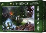 Obrazek puzzle Puzzle Władca Pierścieni: Wyprawa do Mordoru (1000 elementów)