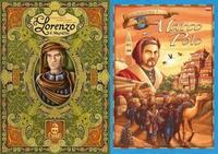 DWIE GRY W CENIE JEDNEJ !!!!! OFERTA WAŻNA DO WYCZERPANIA ZAPASÓW!!! Marco Polo + Lorenzo il Magnifico